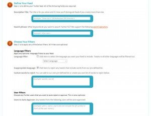 Filtra y modera búsquedas de Twitter con TidyTweet