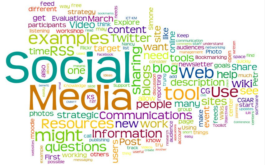 Resultado de imagen de herramientas digitales social media