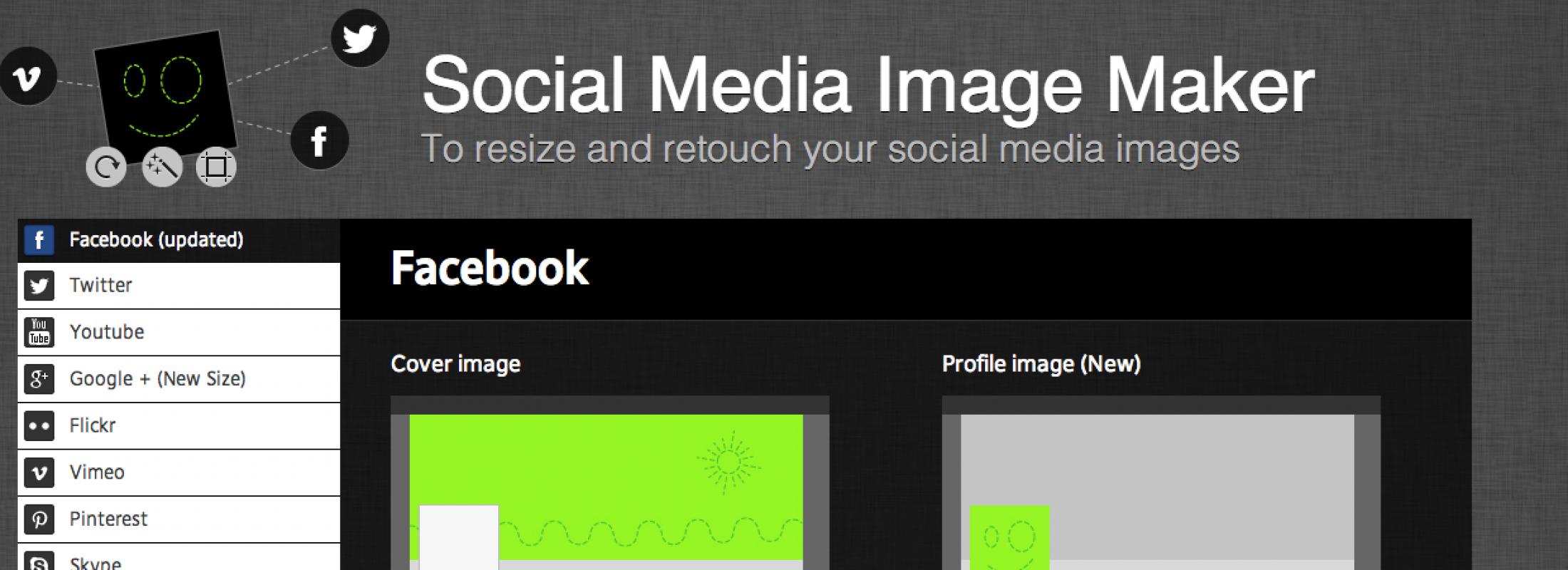 Cómo adaptar tu logo o imagen a todas las Redes Sociales en dos clicks | Social BlaBla