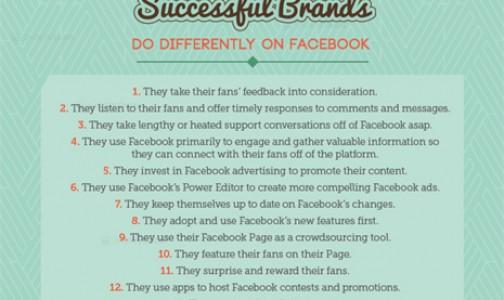 19 cosas que las marcas de éxito hacen diferente en Facebook
