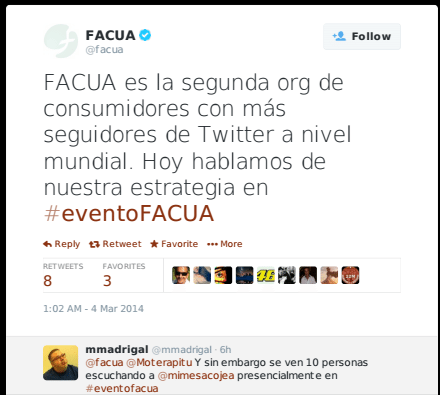 evento facua