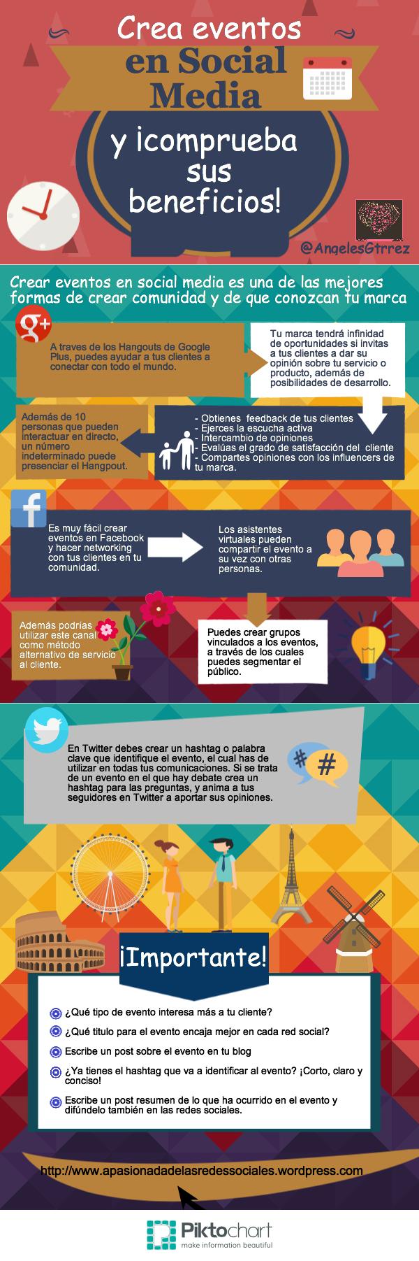 eventos en social media