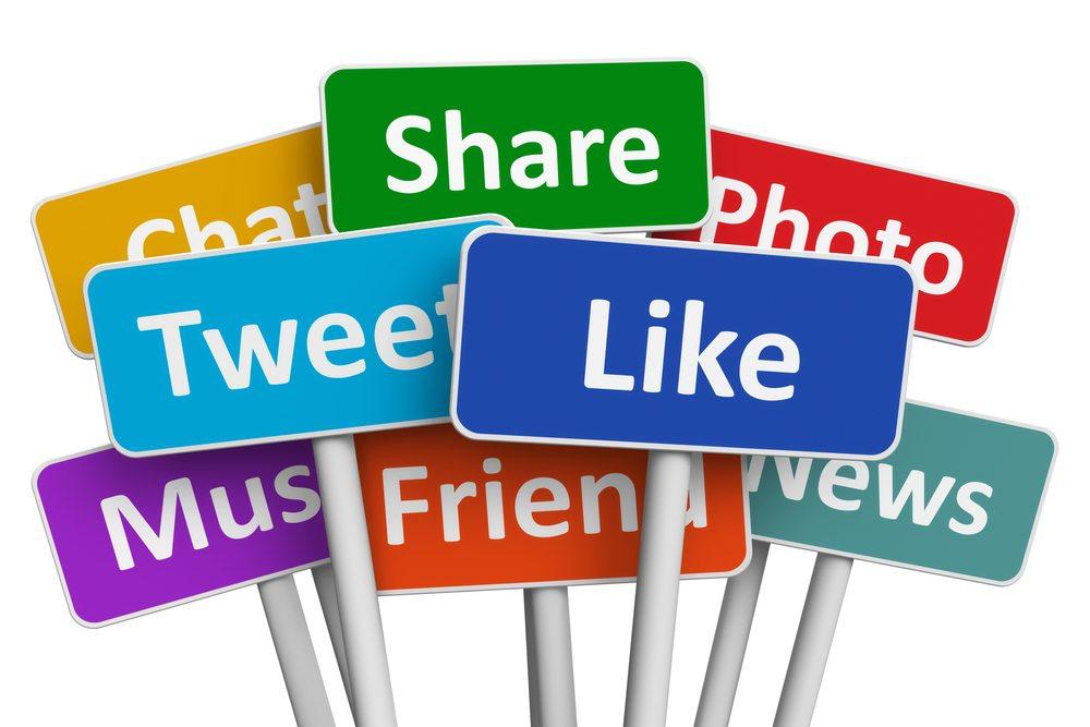 compartir social media