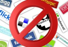 prohibido redes sociales