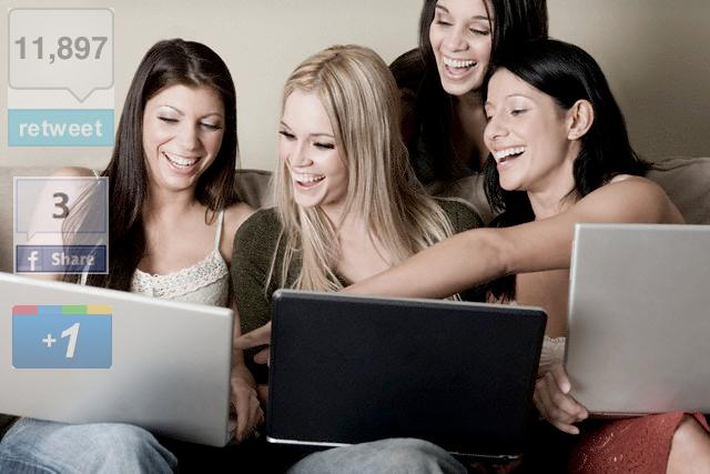 compartir contenido redes sociales